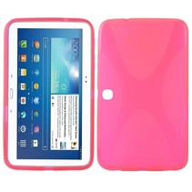 X-design roze TPU hoes Samsung Galaxy Tab 3 10.1