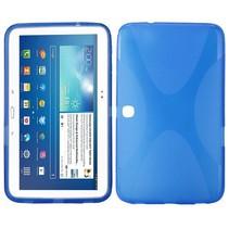 X-design blauw TPU hoes Samsung Galaxy Tab 3 10.1