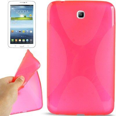 X-design roze TPU hoes Samsung Galaxy Tab 3 7.0