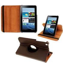 360 graden bruine hoes Samsung Galaxy Tab 3 8.0