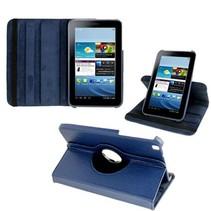 360 graden blauwe hoes Samsung Galaxy Tab 3 8.0
