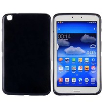 Zwarte TPU hoes Samsung Galaxy Tab 3 8.0