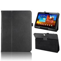 Zwarte flipstand hoes Samsung Galaxy Tab 4 10.1