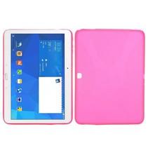 Roze x-design TPU hoes Samsung Galaxy Tab 4 10.1