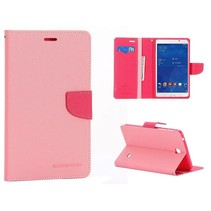 Diary roze flipstand hoes Samsung Galaxy Tab 4 7.0