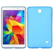 Blauwe x-design TPU hoes Samsung Galaxy Tab 4 7.0