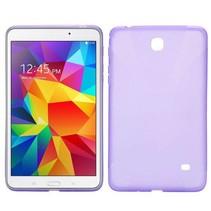 Paarse x-design TPU hoes Samsung Galaxy Tab 4 7.0