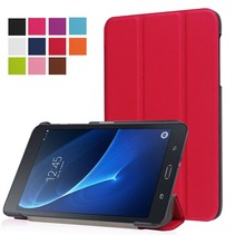 Rode Trifold Hoes Samsung Galaxy Tab A 7.0