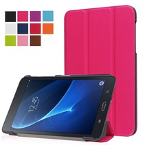 Roze Trifold Hoes Samsung Galaxy Tab A 7.0