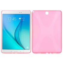 Roze x-design TPU hoes Samsung Galaxy Tab A 9.7