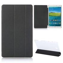 Zwarte tri-fold hoes Samsung Galaxy Tab S 8.4