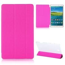 Roze tri-fold hoes Samsung Galaxy Tab S 8.4