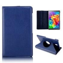 Blauwe 360 graden hoes Samsung Galaxy Tab S 8.4