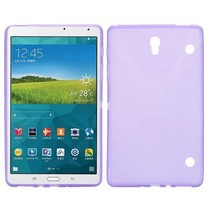 Paarse x-design TPU hoes Samsung Galaxy Tab S 8.4