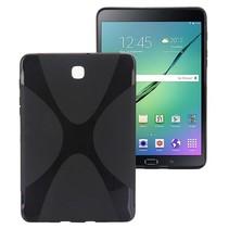 Zwarte x-design TPU hoes Samsung Galaxy Tab S2 8.0