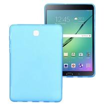 Blauwe x-design TPU hoes Samsung Galaxy Tab S2 8.0