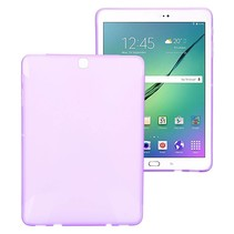Paarse x-design TPU hoes Samsung Galaxy Tab S2 9.7