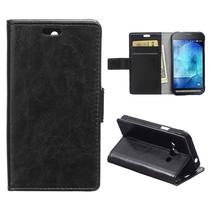 Zwarte Bookcase hoes Samsung Galaxy Xcover 3