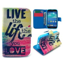 Life quote Bookcase hoes Samsung Galaxy Young 2