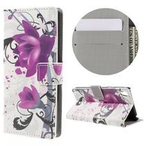 Bloem Bookcase Hoesje Sony Xperia E5