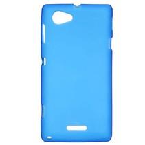 Blauw TPU hoesje Sony Xperia L
