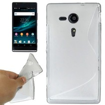 S-line transparant flexibel hoesje Sony Xperia SP
