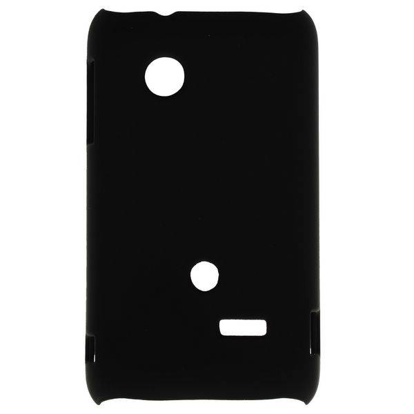 Hardcase hoesje zwart Sony Xperia Tipo