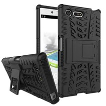 Zwart Hybrid Hoesje Sony Xperia X Compact