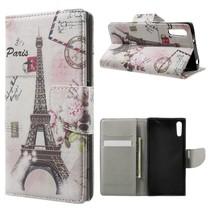 Eiffeltoren Bookcase Hoesje Sony Xperia XZ