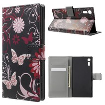 Vlinder Bookcase Hoesje Sony Xperia XZ