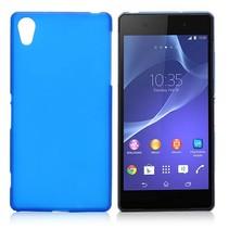 Blauw TPU hoesje Sony Xperia Z2