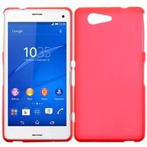 Rode TPU hoesje Sony Xperia Z3 Compact