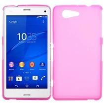 Roze TPU hoesje Sony Xperia Z3 Compact