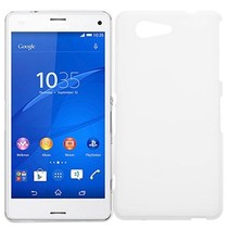 Witte TPU hoesje Sony Xperia Z3 Compact