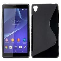 Zwart S-design TPU hoesje Sony Xperia Z3