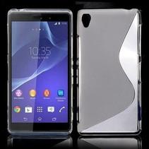 Transparant S-design TPU hoesje Sony Xperia Z3