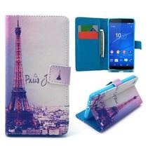 Parijs Bookcase hoes Sony Xperia Z3 Plus