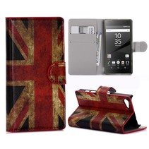 Britse Vlag Bookcase Hoesje Sony Xperia Z5 Compact