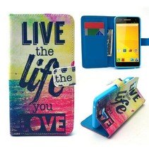 Life quote Bookcase hoes Wiko Rainbow