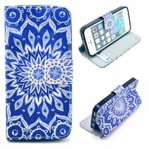 Mandala Bookcase hoesje iPhone 5 / 5s / SE