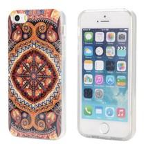 Klassieke Tribal glitter TPU hoesje iPhone 5 / 5s / SE