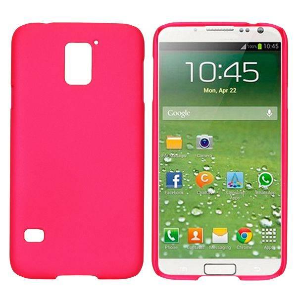 Donkerroze hardcase hoesje Galaxy S5 / Plus / Neo