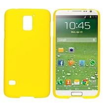 Geel hardcase hoesje Galaxy S5 / Plus / Neo