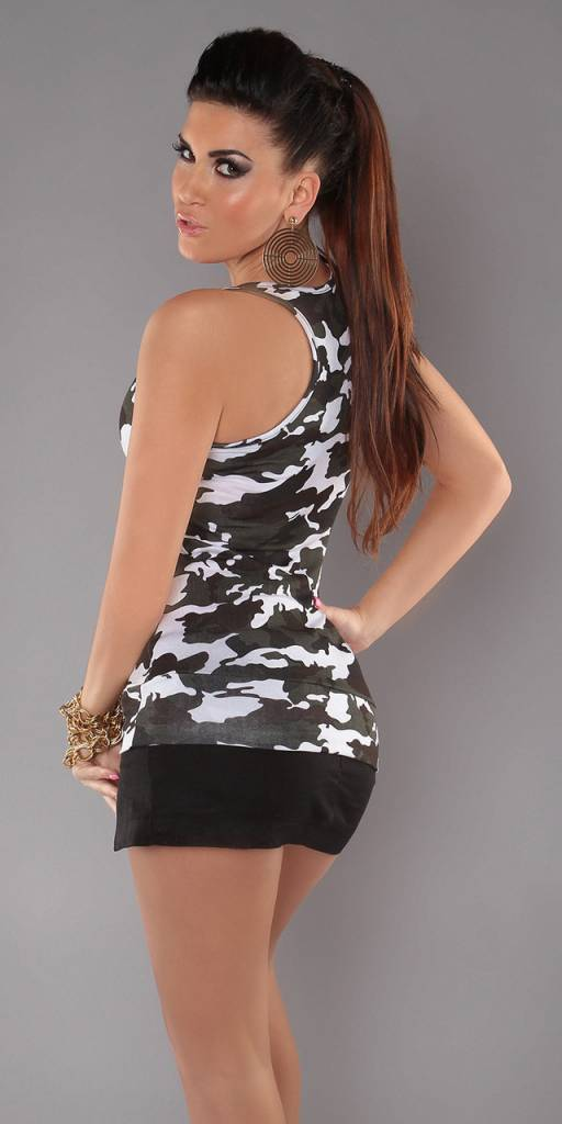 TANK TOP  CAMOUFLAGE