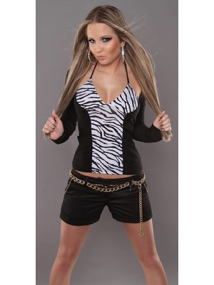 ZEBRAPRINT SHIRT