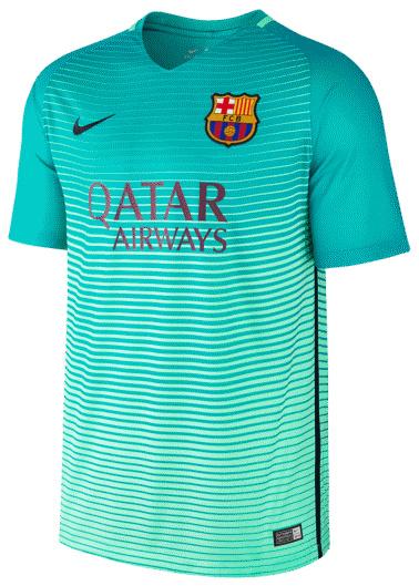 Nike FC Barcelona 3e Shirt 16/17 JR.