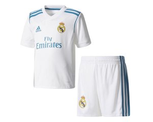 Adidas Real Madrid Thuis Tenue Mini 17/18 JR.