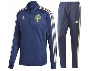 Adidas Zweden WK Trainingspak 2018 Jr.