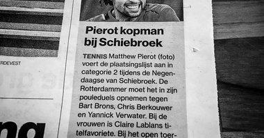 """""""Pierot kopman bij TC Schiebroek"""""""