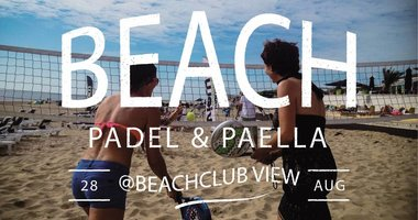 BEACH PADEL & PAELLA